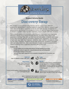 Discovery Swap Instructor Guide