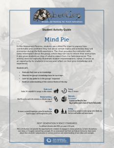 Mind Pie Student Activity Guide