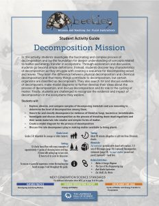 Decomposition Mission Instructor Guide