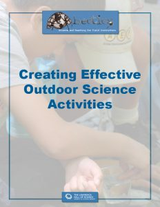 Creating Effective Outdoor Science Activities
