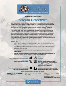 Stream Detectives