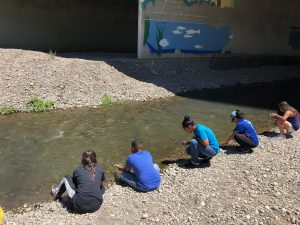 Students at Guadalupe Park Conservancy