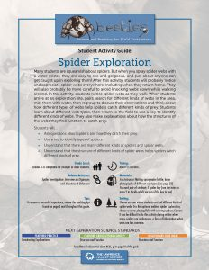 Spider Exploration Instructor Guide