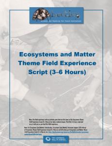 3-6 Hour Script
