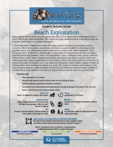 Beach Exploration PDF